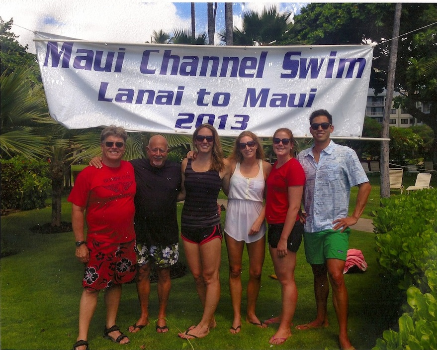 James Krueger and Channel Swim